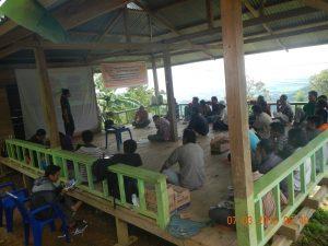 pemetaan wil adat Mungkajang (Kambo)