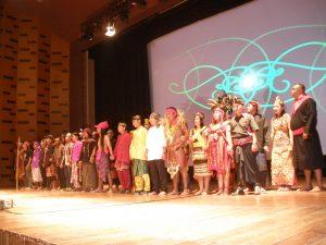 Barisan Pemuda Adat Nusantara dalam Fragmen Teatrikal
