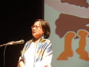 Sandra Moniaga menuturkan sejarah berdirinya AMAN