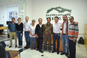 Diskusi LSM Reforestamos_Meksiko