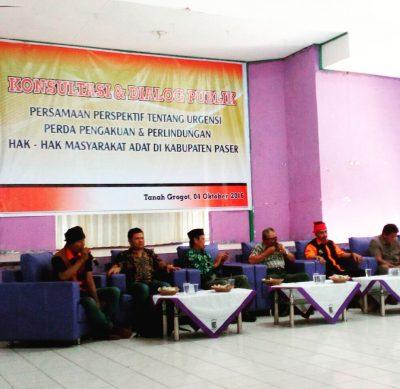 Dialog Publik PPHMA Paser