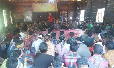 Suasana Seminar Hukum Adat Nanga Tayap