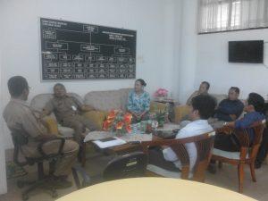 Pengurus AMAN Kaltim & AMAN Kaltara saat bertemu dengan Asisten I Bidang Pemerintahan Kab Bulungan